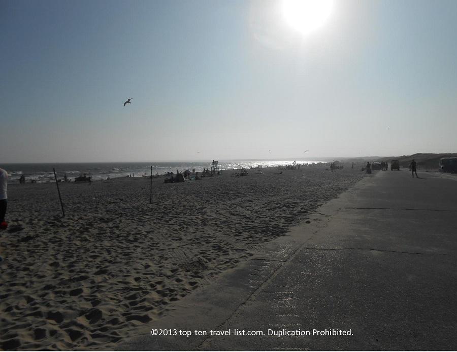 Horseneck Beach at sunset - Westport, MA