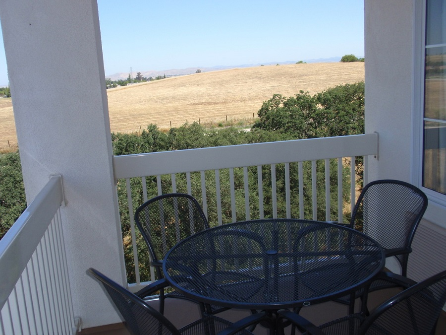 Balcony of La Quinta Inn, Paso Robles, CA