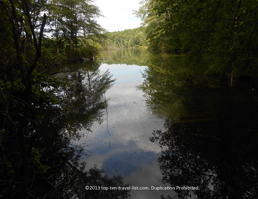 beautiful lake views at lincoln woods blog