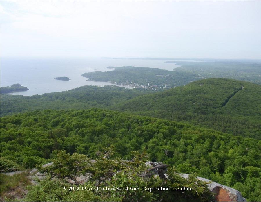 Camden Hills State Park in Maine