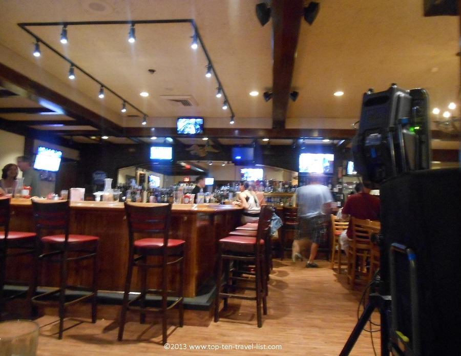 Fireside Grill & Spirits bar area - Middleboro, MA