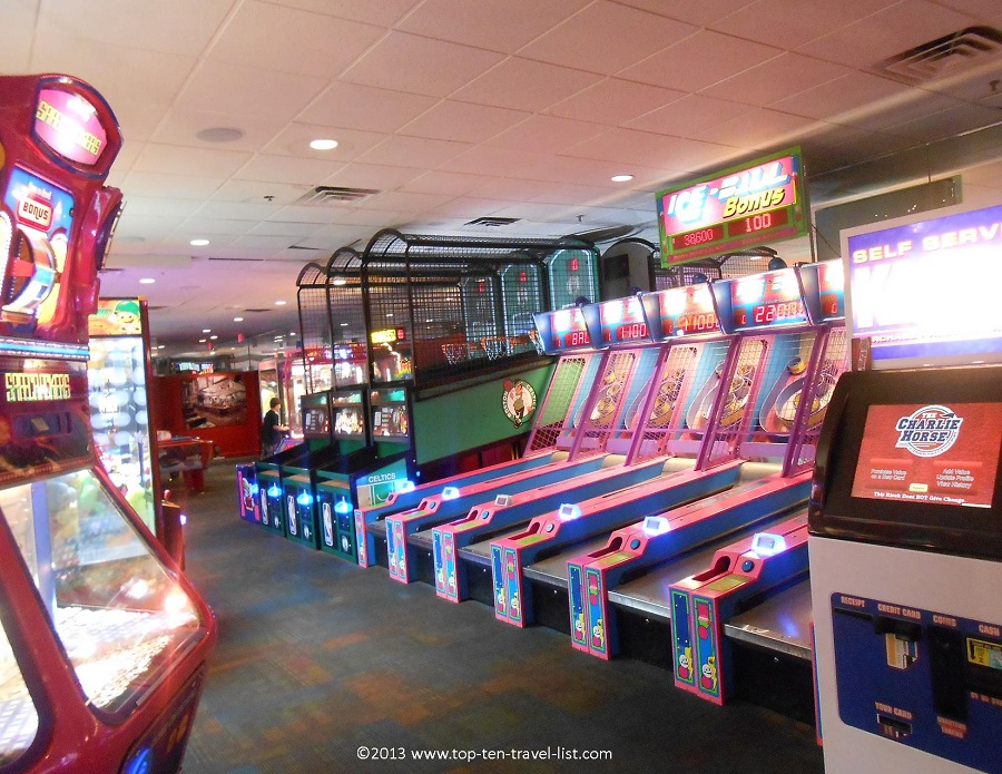 Charlie Horse game room - West Bridgewater, MA