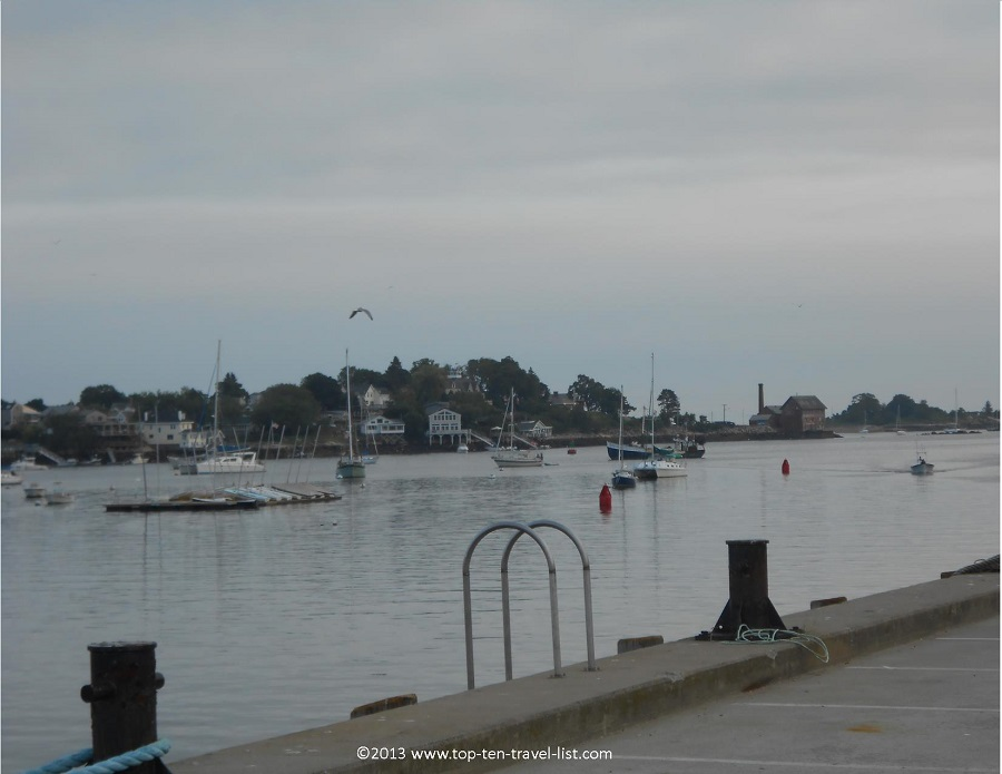 Gloucester, MA waterfront