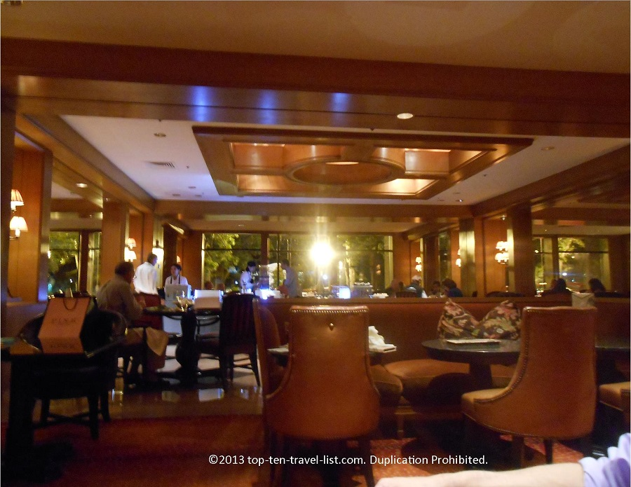 The Bristol Lounge at Four Seasons Boston