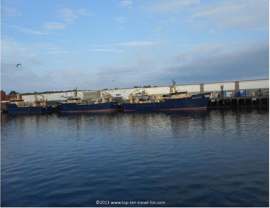 Shipyard in Gloucester, MA - near Crow's Nest