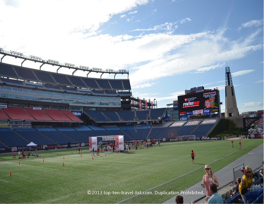 Gillette Stadium - Finish at the 50 5k - Foxboro, MA