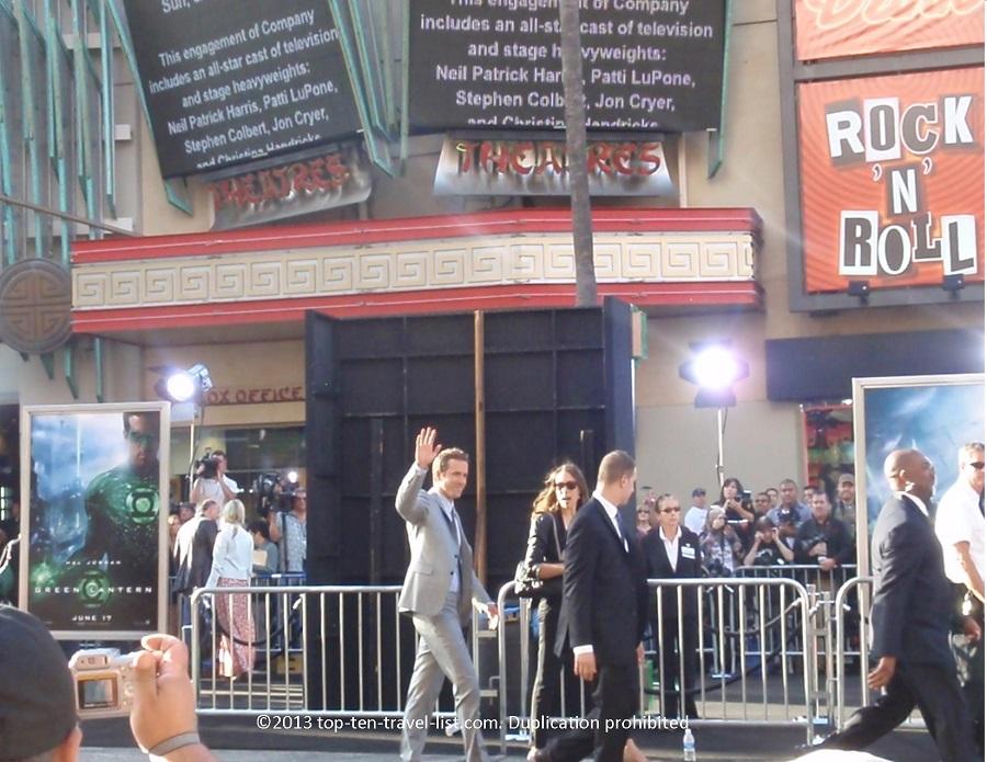 Ryan Reynolds at the Green Lantern premiere in Los Angeles, CA