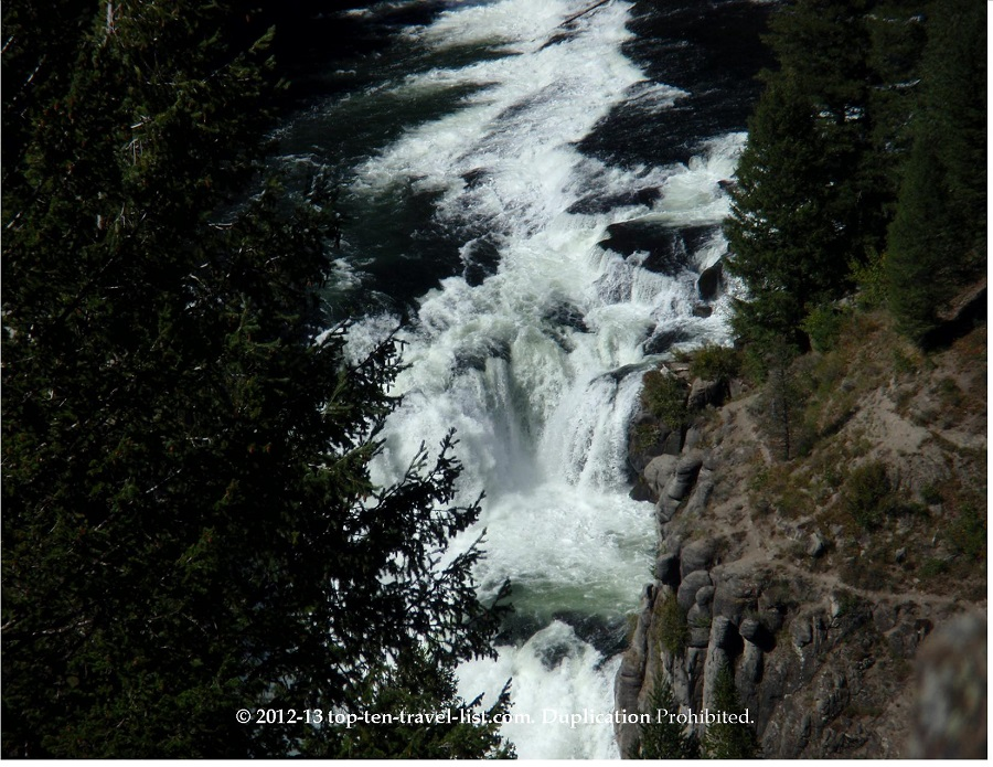 Mesa Falls- Lower Falls - Idaho