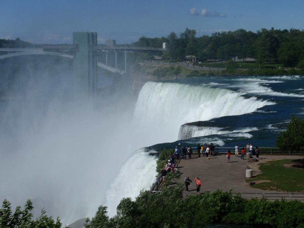 Overlook of Niagara Falls