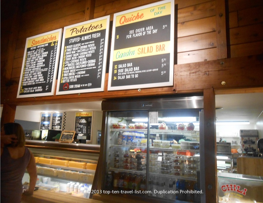 Arthur's menu - Dixon, IL