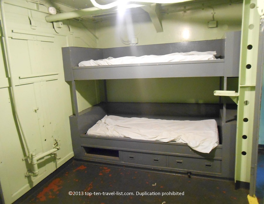 Battleship Cove - Fall River, MA - inside the ships