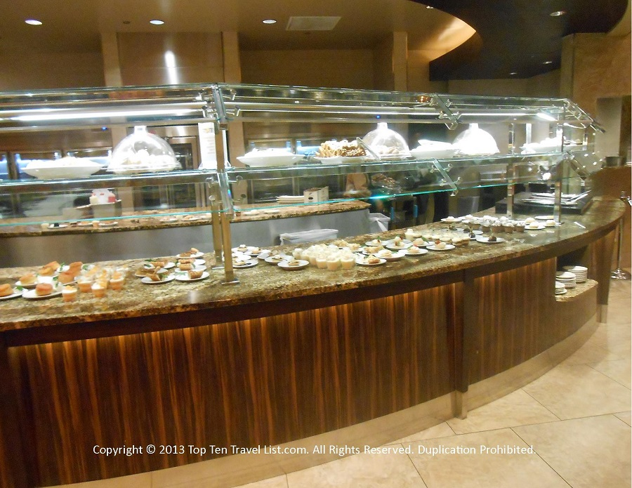 Desset buffet at Seasons Buffet at Mohegan Sun