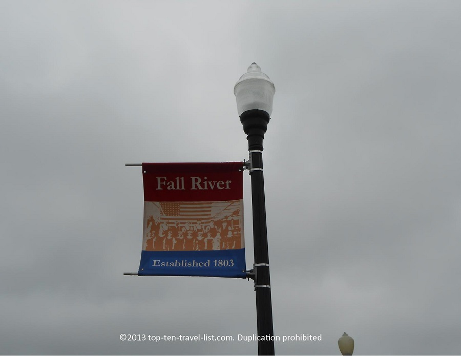 Fall River, Massachusetts sign