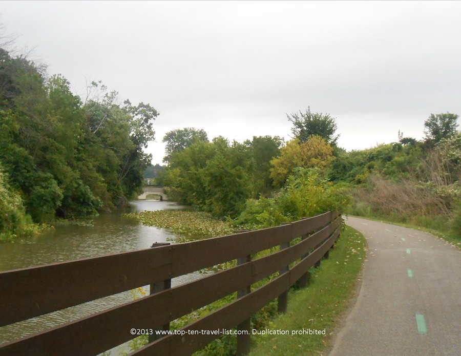 Beautiful views along the Ohio & Erie Canal Towpath