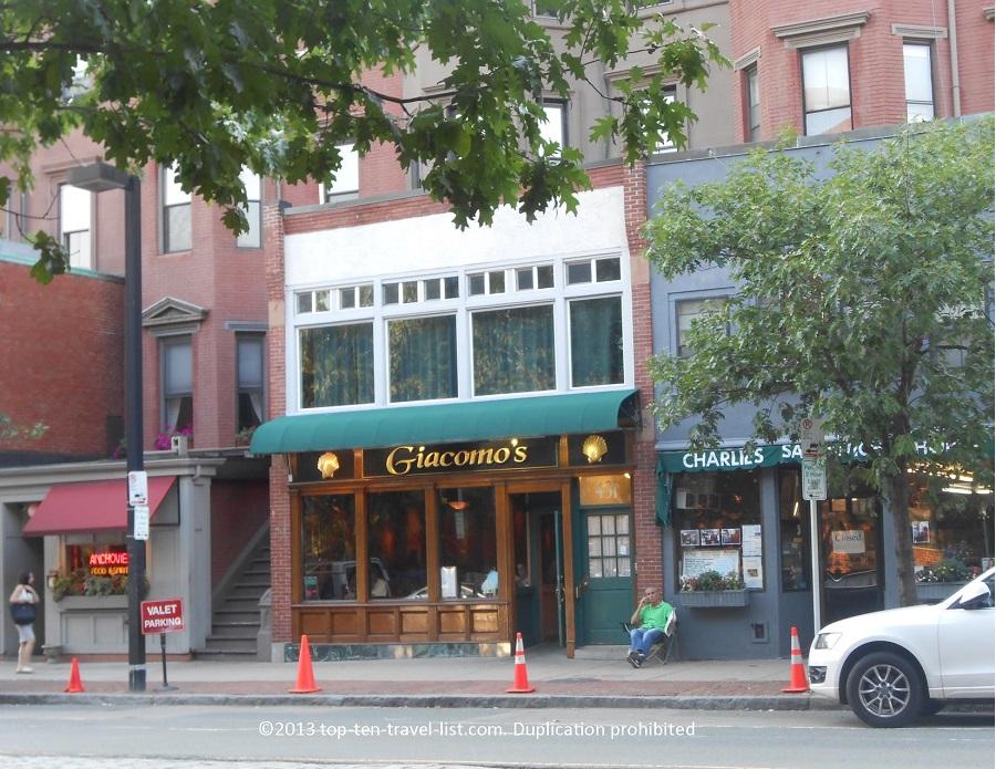 Giacomo's Boston, Massachusetts