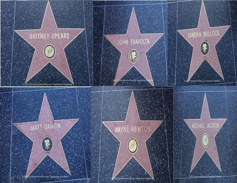 Walk of Fame - Hollywood, California