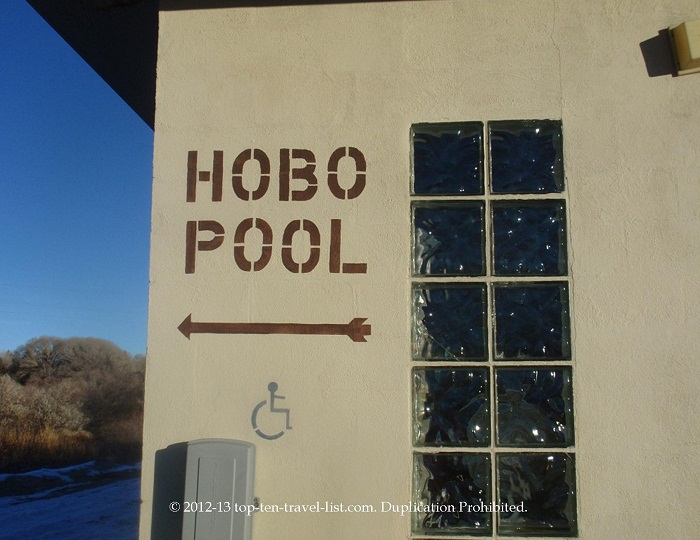 Hobo Pool - Natural Hot Springs - Saratoga, Wyoming