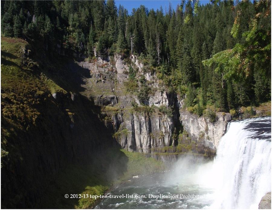 Mesa Falls - Upper Falls - Idaho