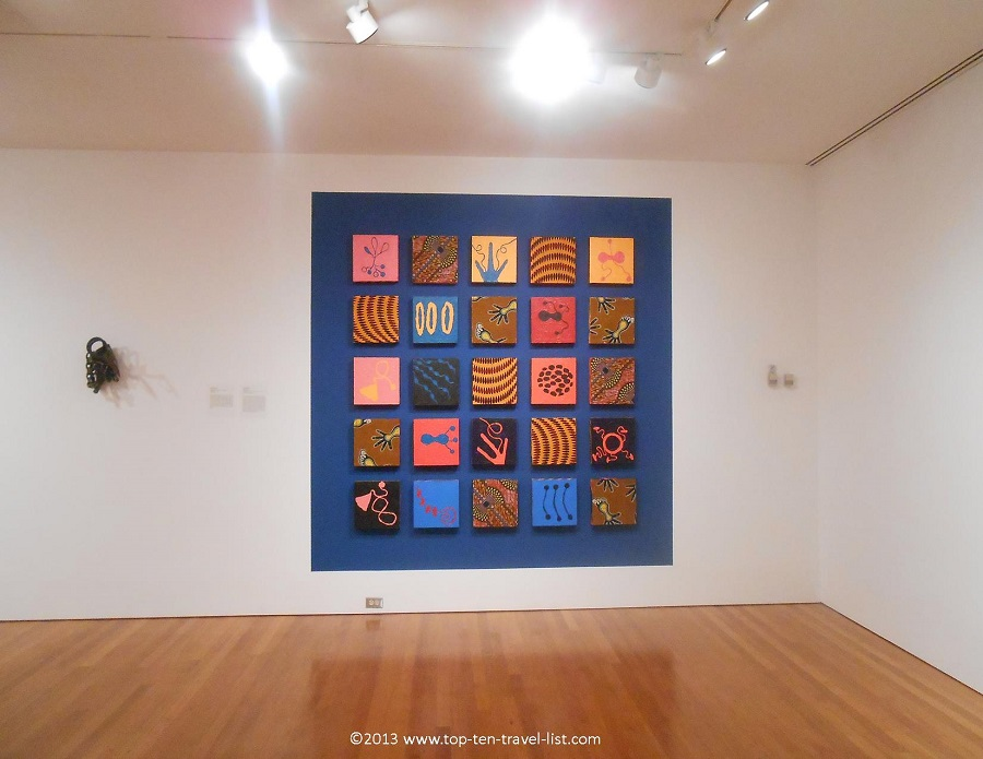 Contemporary art at Worcester Art Museum in Massachusetts