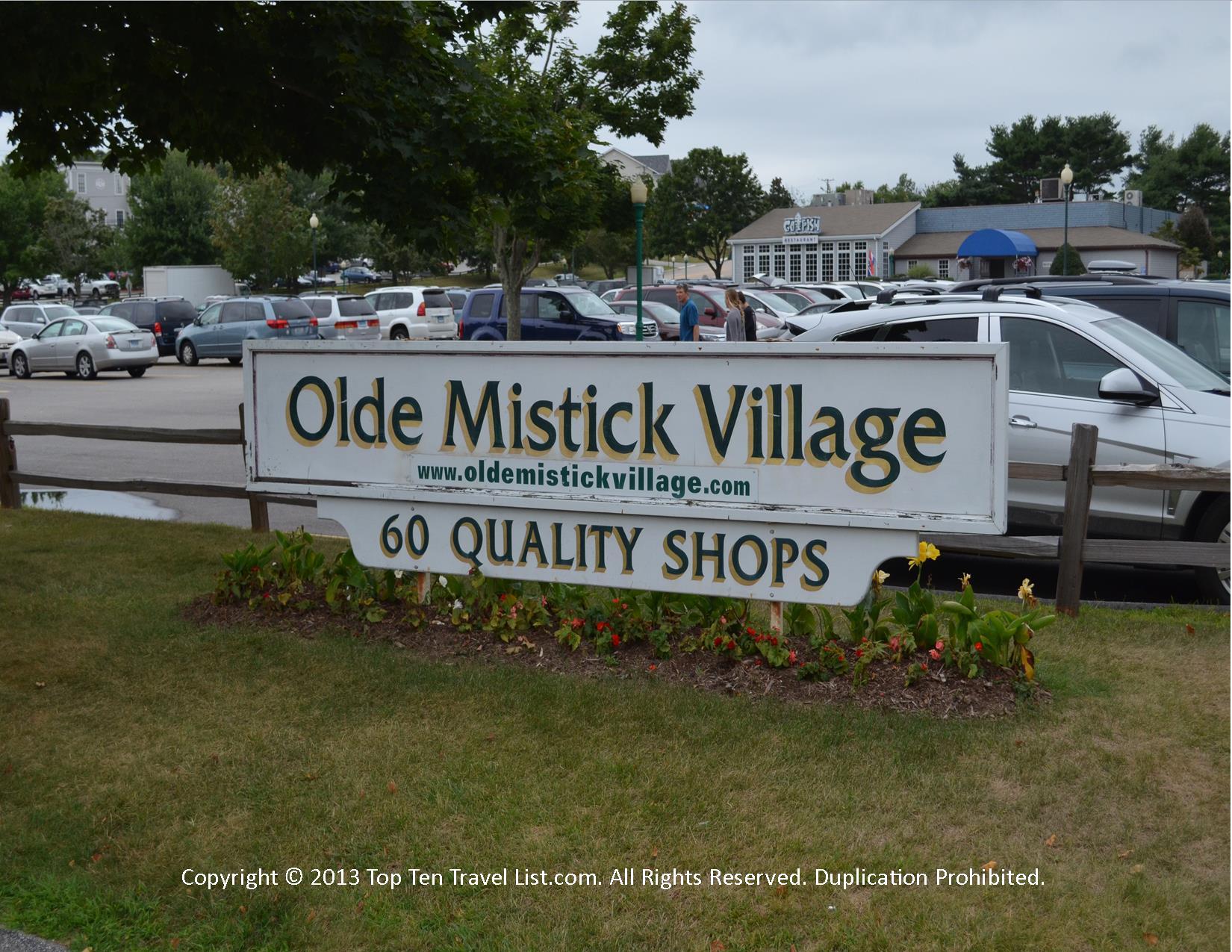 Olde Mystick Village - Mystic, CT