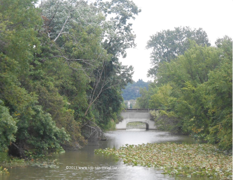 Water views along the Ohio & Erie Canal Towpath