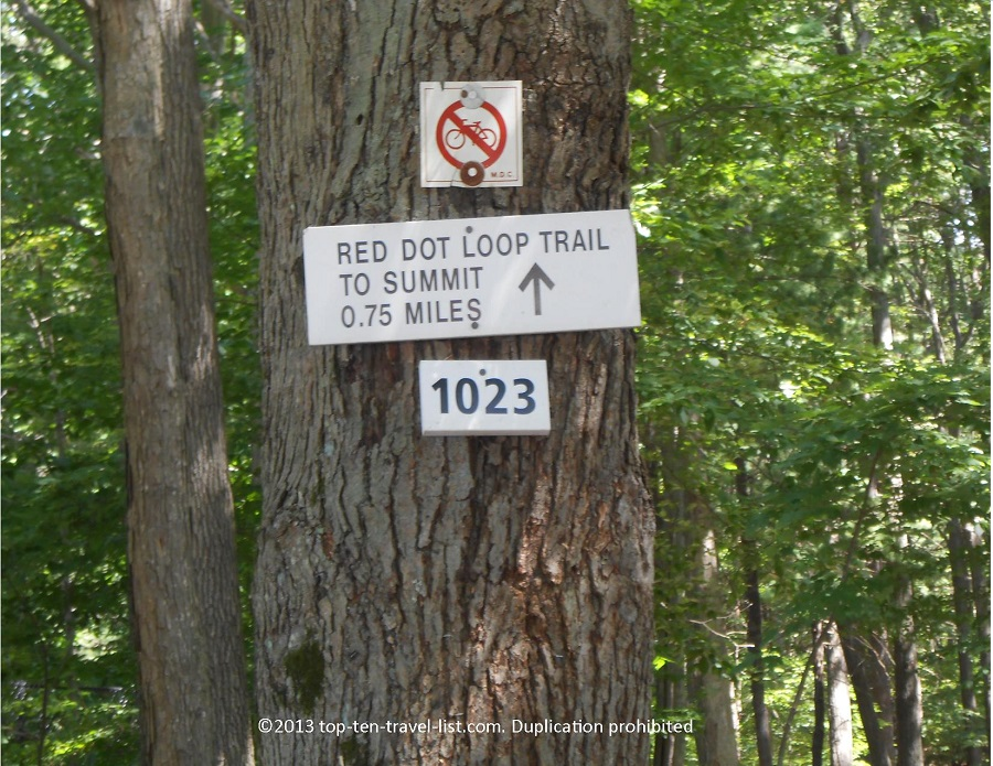 Red Loop Trail at Blue Hills Reservation