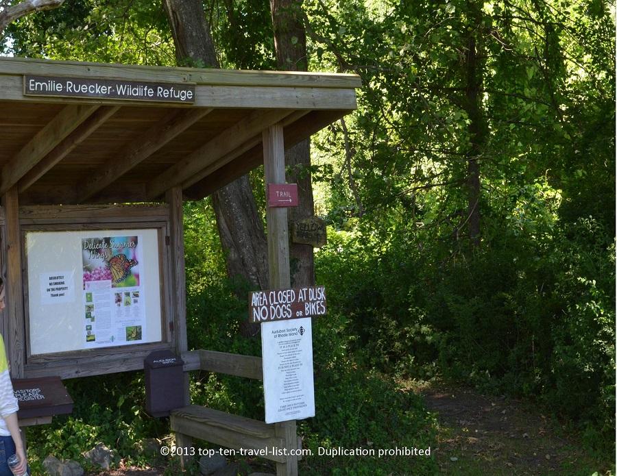Emilie Ruecker Wildlife Refuge - Tiverton, Rhode Island
