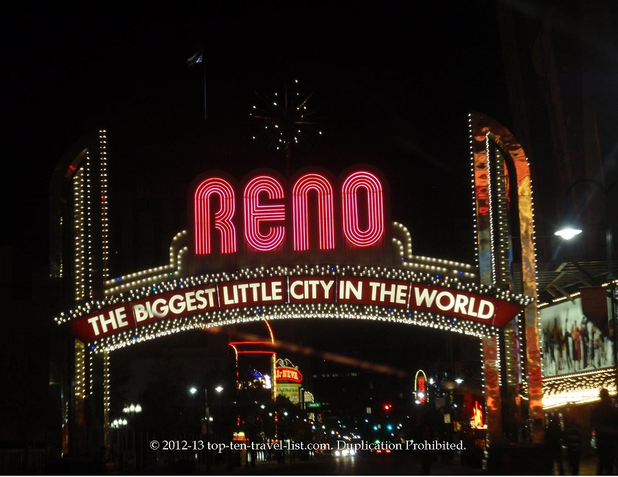 Reno, NV sign