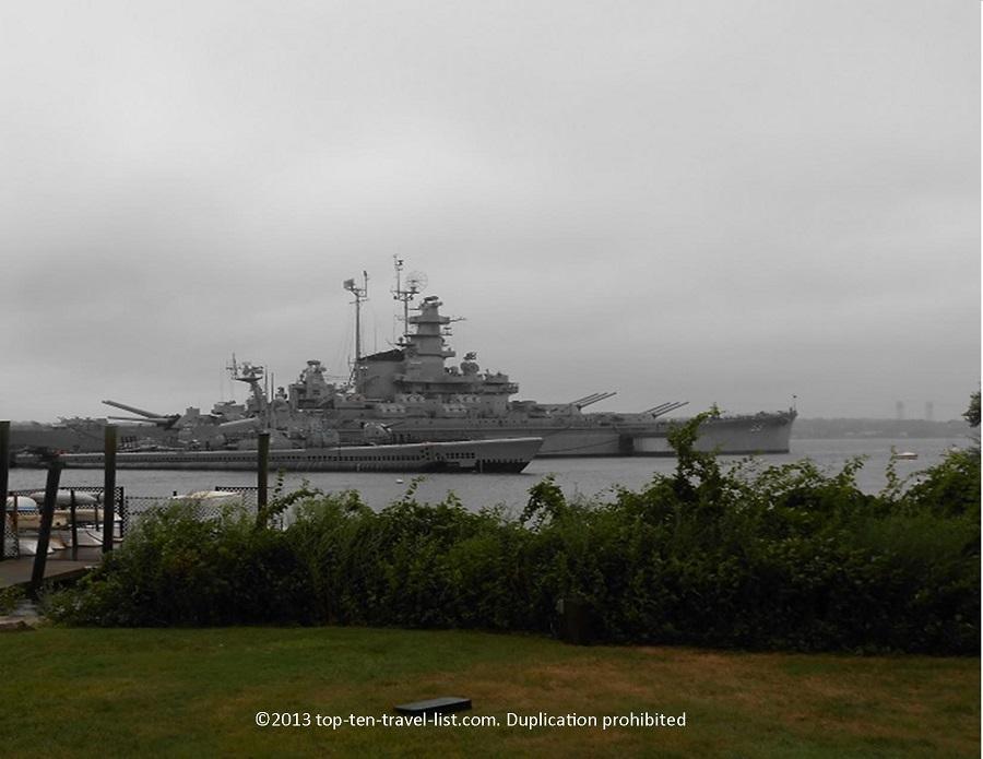 USS Massachusetts - Battleship Cove in Fall River