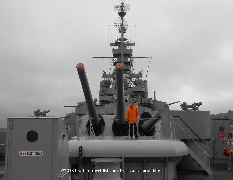 USS Massachusetts - Battleship Cove - Fall River, MA