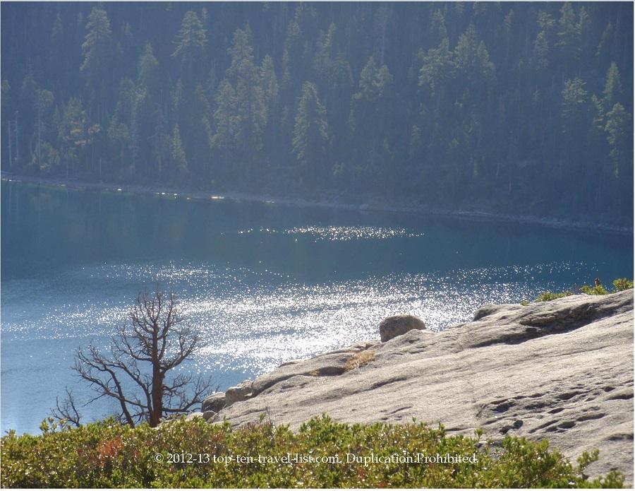 Emerald Bay hike views - Lake Tahoe