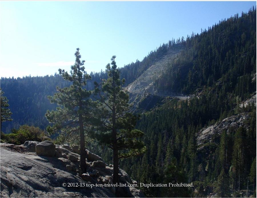 Views while hiking at Emerald Bay - Lake Tahoe