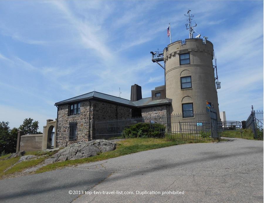 Blue Hills Observatory in Massachusetts