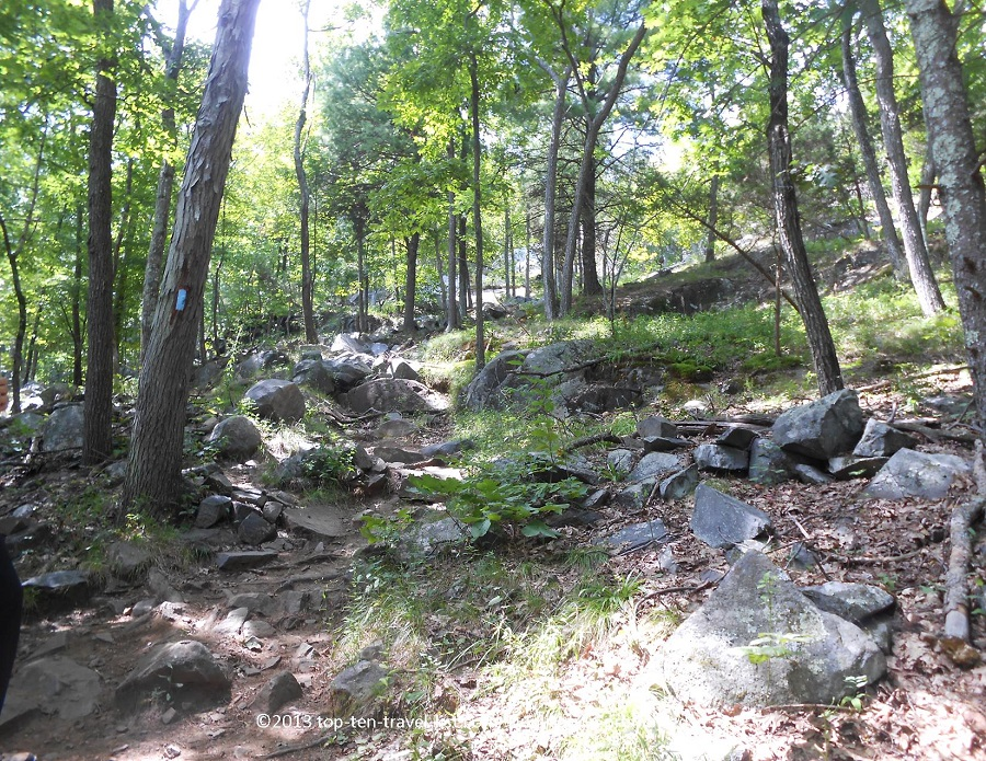 Skyline Trail at Blue Hills