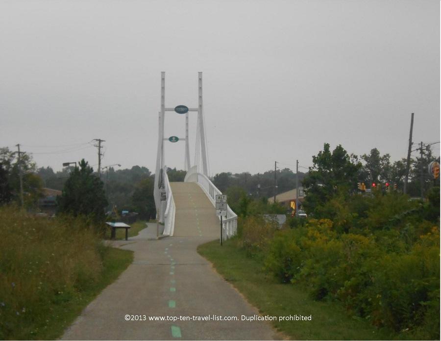 Ohio & Erie Canalway bridge