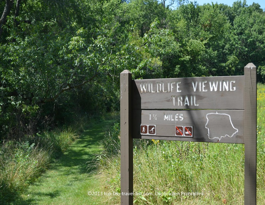Wildlife Viewing Trail - Castle Rock State Park