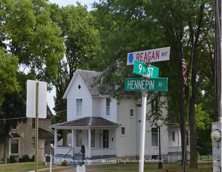 Reagan house in Dixon, IL