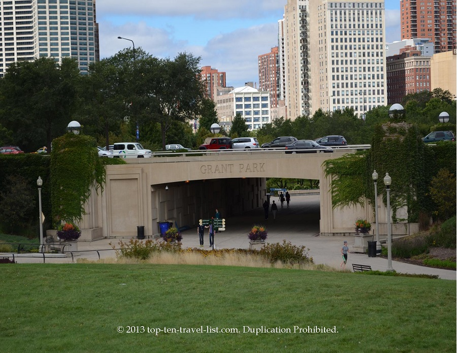 Grant Park in Chicago, IL