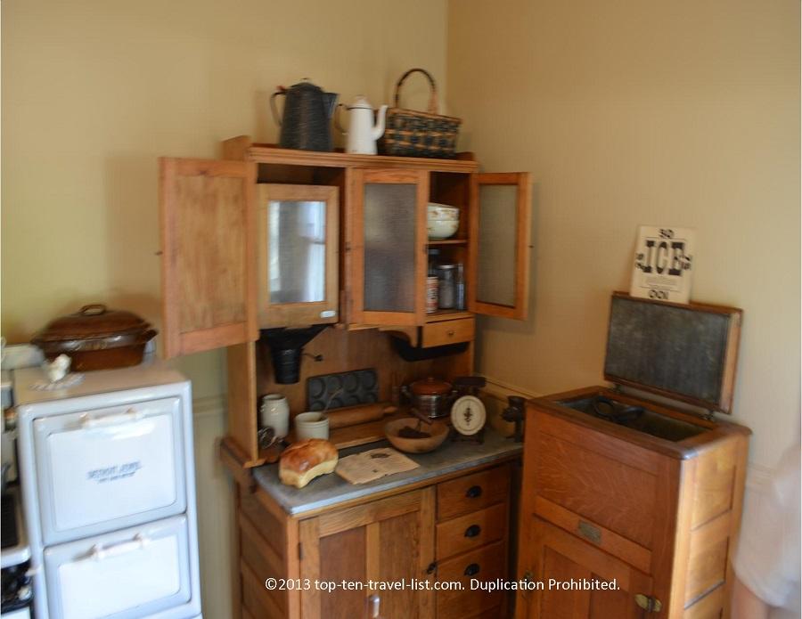 Kitchen of Ronald Reagan house in Dixon, IL