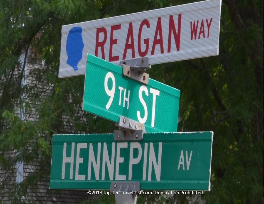 Reagan Way in Dixon, IL