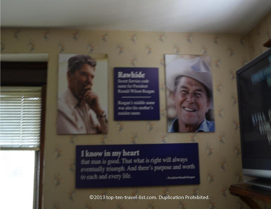 Ronald Reagan Memorabilia - Dixon, IL