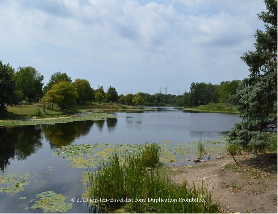 Beautiful view of Lake Katherine in Palos Heights, IL