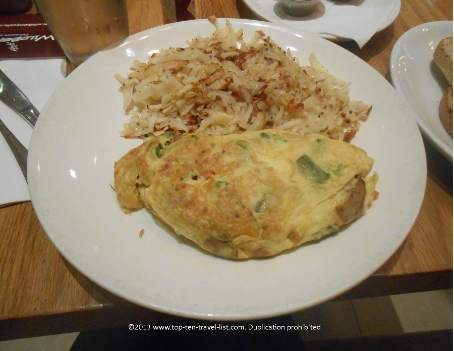 Veggie Omelet at Wildberry Cafe in Chicago