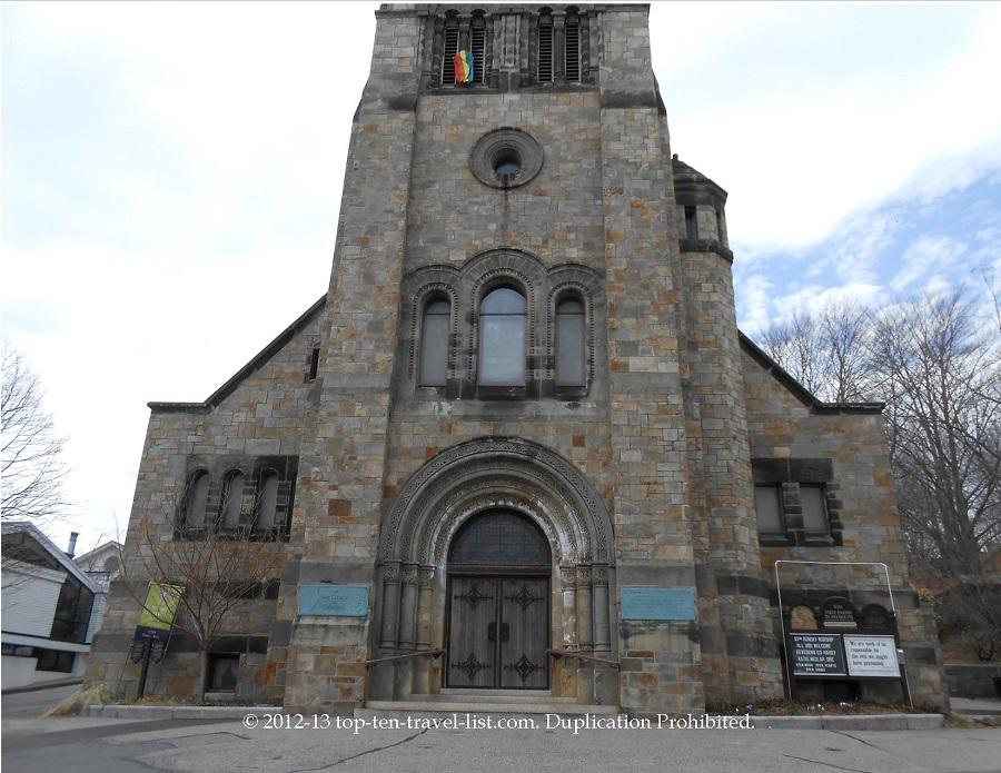 First Parish Church in Plymouth, MA
