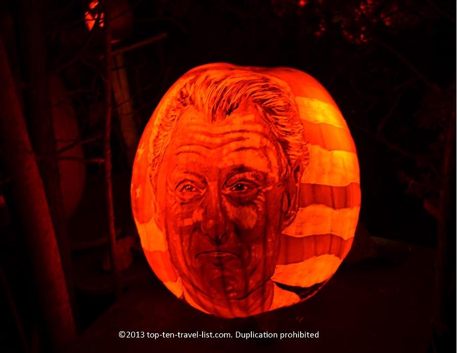 Bill Clinton Jack O'lantern