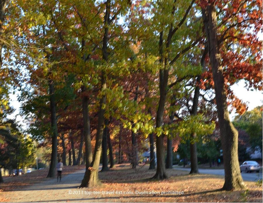 Fall scene in Providence, Rhode Island
