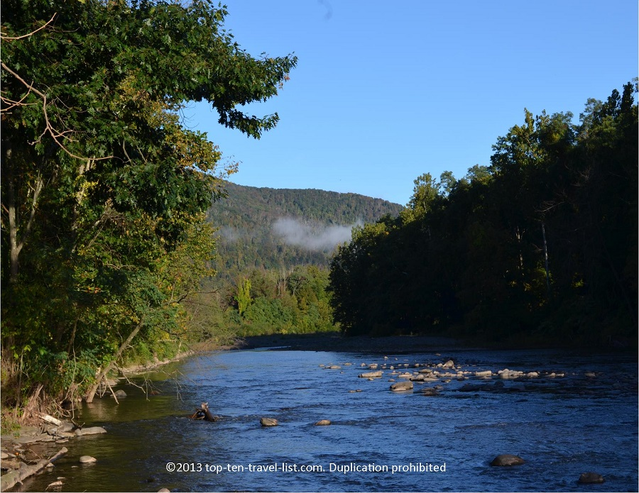 Esopus Creek & the Catskill Mountains - Mt. Tremper, NY