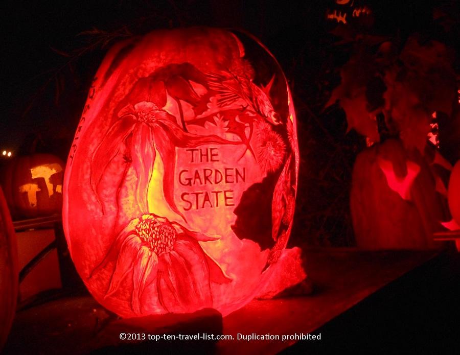 The Garden State Jack O'Lantern