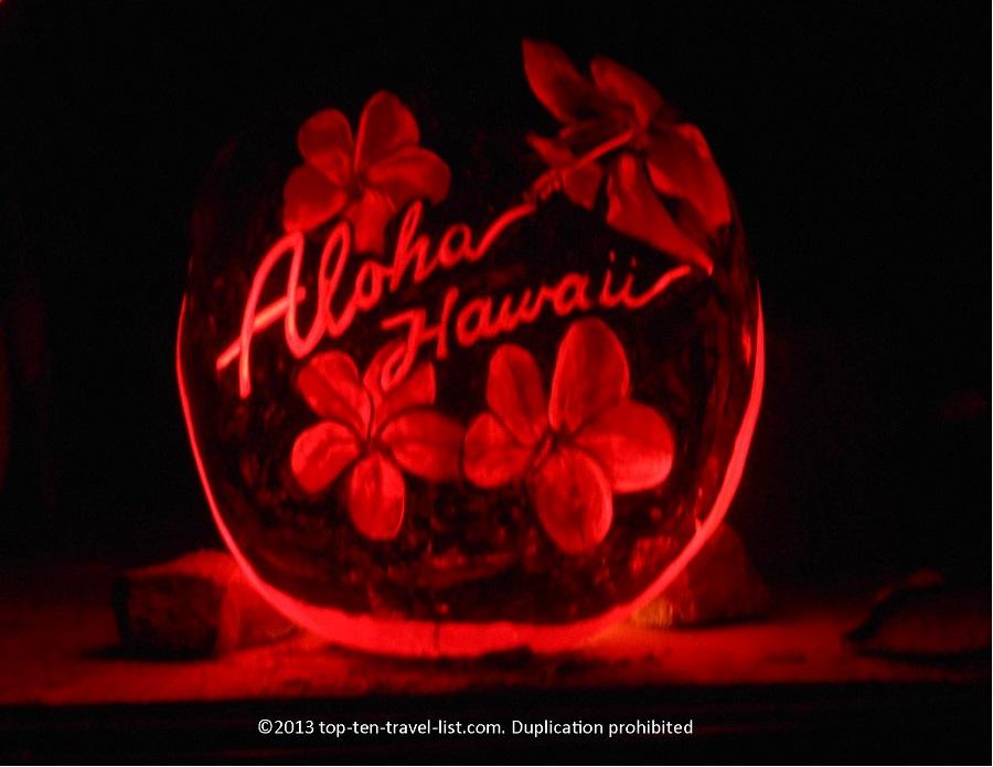 Hawaii Aloha Jack O'Lantern