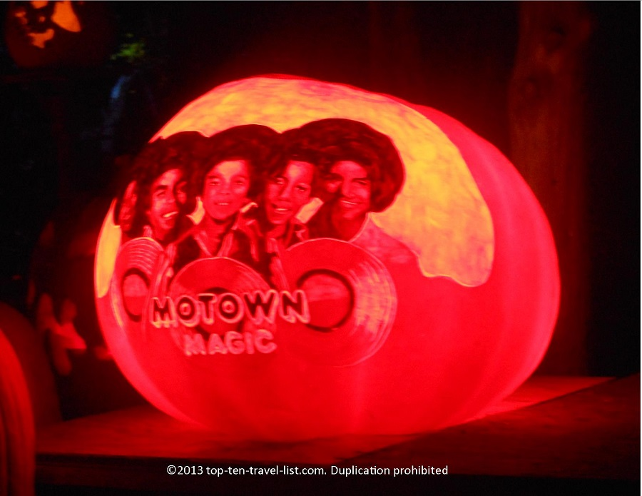 Motown music Jack O'Lantern